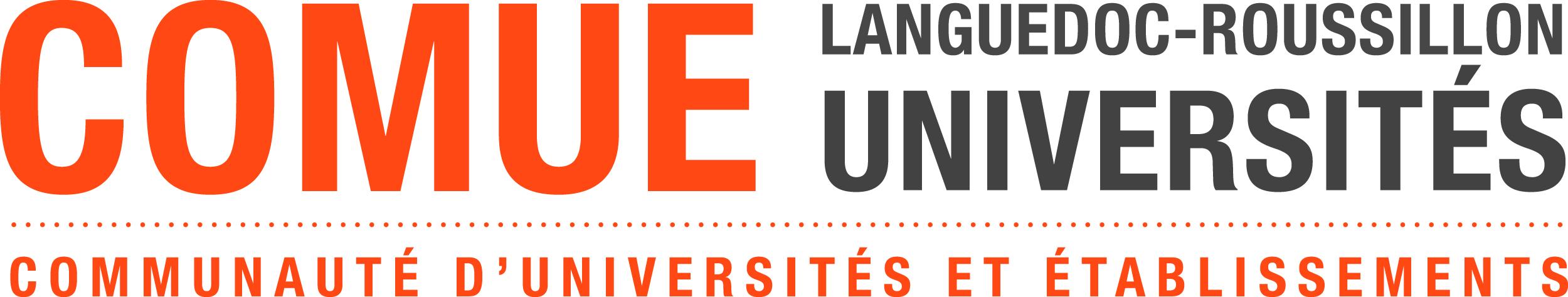 Logo COMUE Languedoc-Roussillon Universités