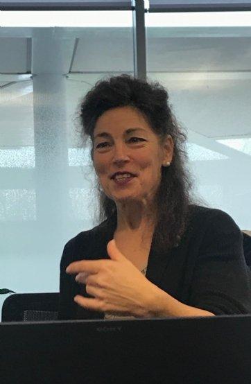 Emmanuelle Garnier, présidente de l'université Toulouse-II Jean-Jaurès.